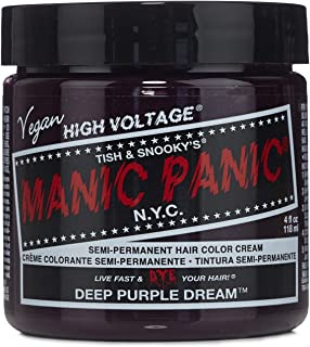 Manic Panic Classic Hair Dye Color - Deep Purple Dream 4 Oz