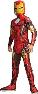 Child's Marvel Comics Universe Avengers Iron Man Jumpsuit Costume