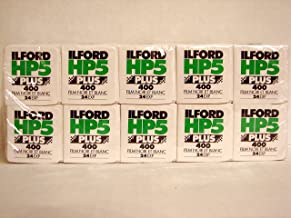 Ilford HP5 Plus 400, 35mm Black and White Print Film, 24 Exp, 10 PACK