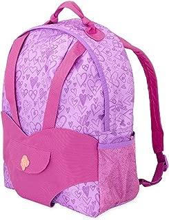 Our Generation Hop On Carrier knapsack - purple heats