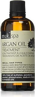 Muk Haircare Spa Argan Oil Treatment Serum, 3.4 Ounce