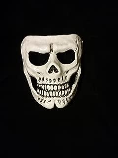 007 Halloween Skull Mask (White)