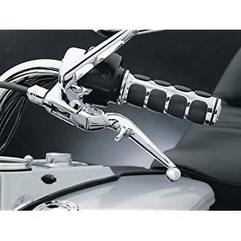 Chrome Kuryakyn 7411 Motorcycle Handlebar Accessory 1 Pair Zombie Clutch and Brake Trigger Levers for 1988-2018 Honda Motorcycles