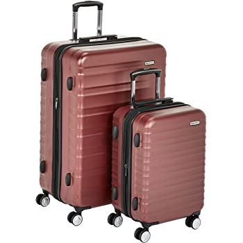 MONCEY DELSEY PARIS Valise rigide /à double roues et serrure TSA int/égr/ée 136L 82cm Gris