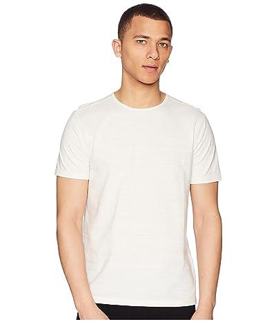 John Varvatos Collection Short Sleeve Knit Crew Neck T-Shirt K1762R2 (Eggshell) Men