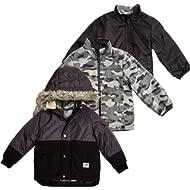 Boys' 4-in-1 Heavyweight Systems Jacket Coat