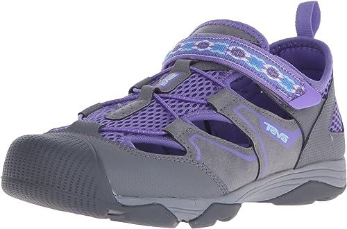Teva Rollick Outdoor chaussures (Toddler Little Kid Big Kid), gris violet-T, 1 M US Little Kid
