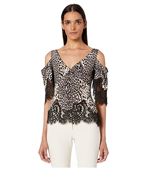 McQ Lace Dropped Shoulder Tee