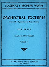 Orchestral Excerpts from the Symphonic Repertoire for Flute, Vol. V [Classical & Modern Works Series]