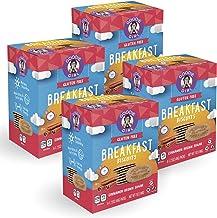 Goodie Girl Cookies Cinnamon Brown Sugar Breakfast Biscuits, Gluten Free, Peanut Free, Vegan, Kosher, 16 Breakfast Biscuits Individual Packages (4 Count Boxes, Includes 4 Boxes)
