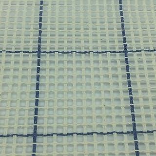 Cañamazo para punto de cruz o medio punto | 2 telas de 50x50 cm | 1,97 puntos/cm - 5 cuentas | cuadrícula impresa | de Delicatela (50x50cm)