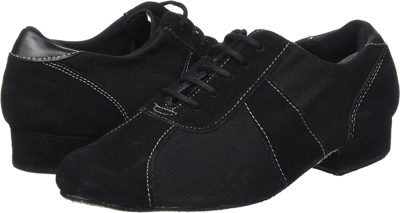 Sansha Bm10095c Silvano dansschoenen voor heren zwart