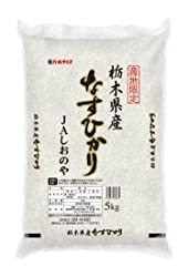 【精米】栃木県産 JAしおのや 白米 なすひかり 5kg 平成30年産
