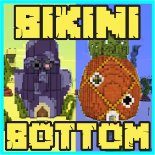 Underwater Mod: Bikini Bottom Maps for Minecraft PE
