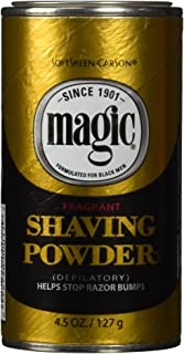 magic shaving powder burn