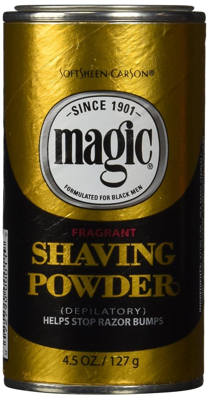 突撃カルシウム性的メンズひげ脱毛ゴールドシェービングパウダー 香り付き 133ml (並行輸入品)
