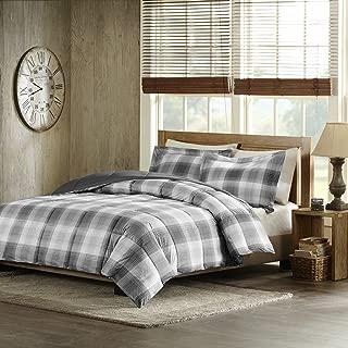 Woolrich Woodsman Softspun Down Alternative Mini Comforter Set, Twin, Grey