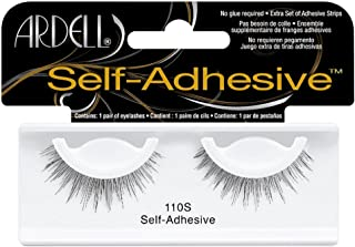 Ardell Self-Adhesive Eye Lashes, Black [110S] 1 ea (Pack of 3)