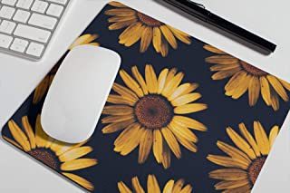 Sunflowers Mouse Pad Cute Floral Mousepad Womens Desk Accessories Office Supplies Gift for Coworker A292