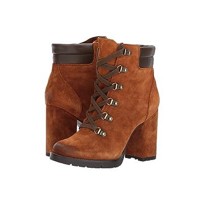 Sam Edelman Carolena (Luggage/Ebano Brown Velutto Suede Leather) Women