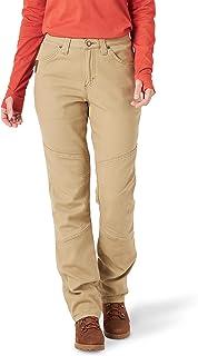 Wrangler Riggs Workwear Women's Tough Layers Utility Pant, Golden Khaki, 2W x 30L