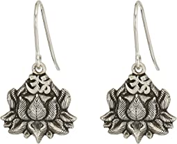 Lotus Peace Petals Hook Earrings