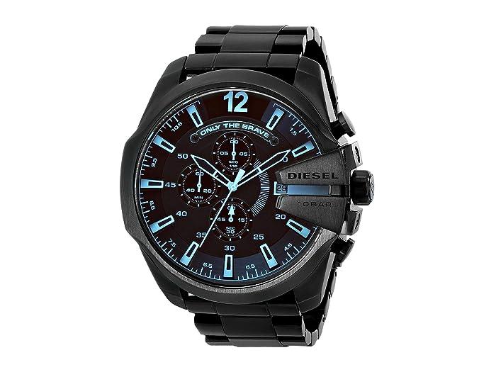 Diesel  Mega Chief (Black 2) Chronograph Watches