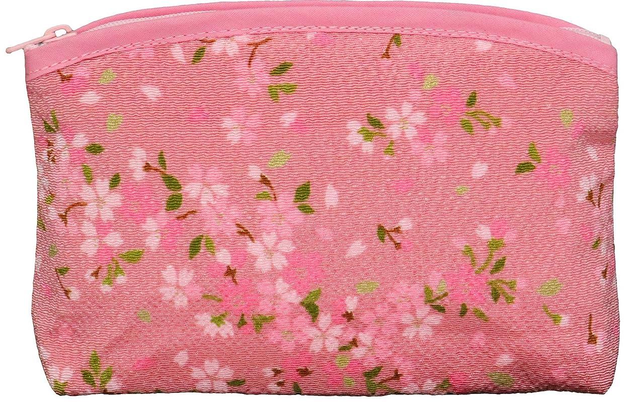窒息させる減る多用途まつみ工芸 ポーチ さくら SAKURA ピンク