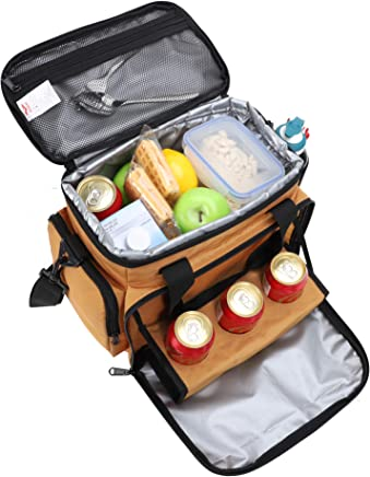 3ca67e95ebe2 Amazon.com: Gold - Lunch Bags / Travel & To-Go Food Containers: Home ...