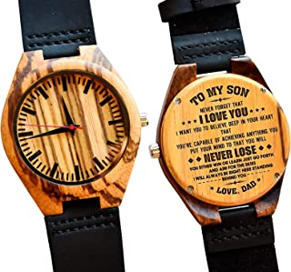 Best wooden watch for my son Reviews