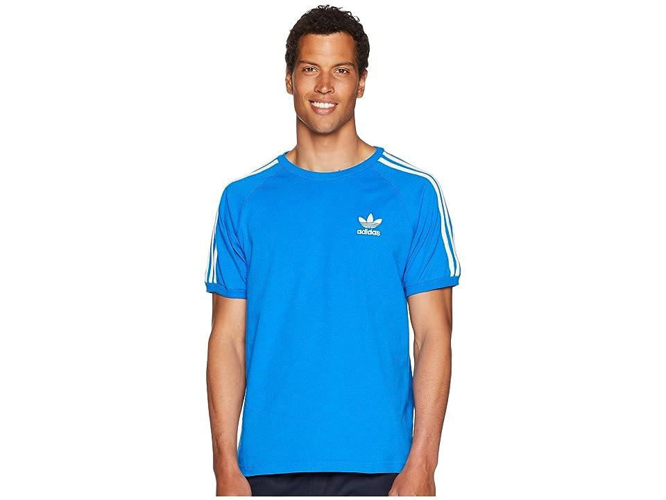 adidas Originals 3-Stripes Tee (Bluebird) Men's T Shirt