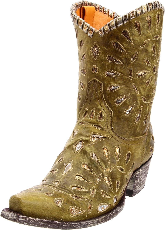 Old Gringo Women's Tino Western 8 Bargain Green Boot M US 2021 model