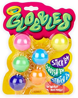 Crayola Globbles, Fidget Toys, Squish Gift for Kids, 6...