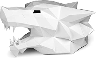 Amazon com: papercraft animal head