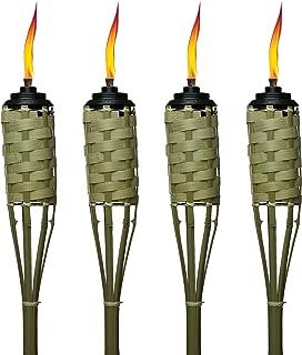 Solar Tiki Torches