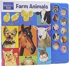 Encyclopedia Britannica - Farm Animals 10-Button Sound Book - PI Kids