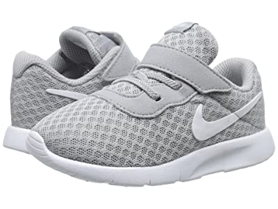 Nike Kids Tanjun (Infant/Toddler) (Wolf Grey/White/White) Boys Shoes