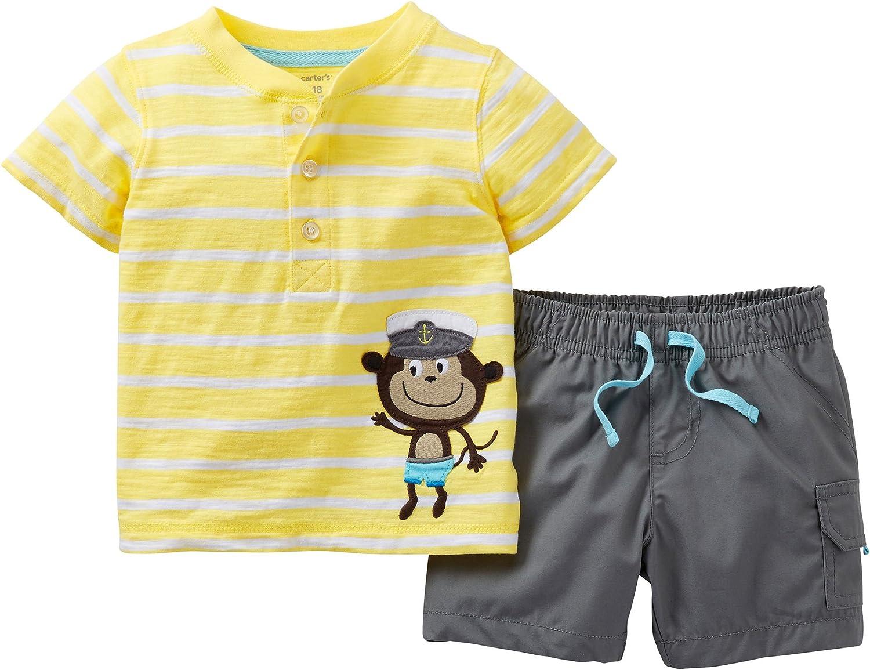 Mesa Mall Carter's Captain Monkey Short Stripe Price reduction Set