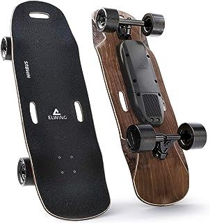 Elwing Boards - Skateboard Elettrico Modulabile - Powerkit Nimbus - Motore Semplice o Doppio - Batteria Standard o a Lunga...