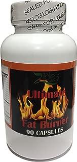 Zildek Nutrition Ultimate Fat Burner Weight Loss Supplement Pills with Raspberry Ketones and Green Tea Extract (90 Caps)