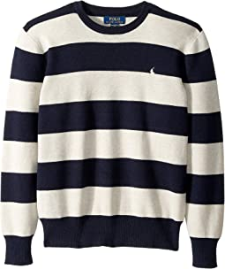 Striped Cotton Sweater (Big Kids)