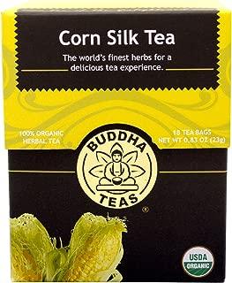 Buddha Teas Corn Silk Tea, 18 Count (Pack of 6)