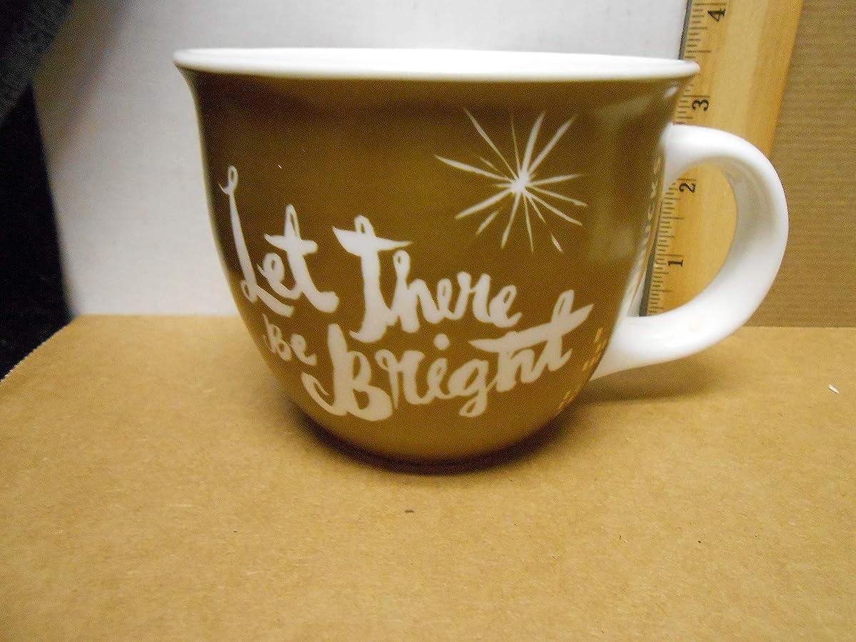 Starbucks Holiday Deluxe Collector Coffee Mug Gold Starburst (Star Bright) psknhhfllrh0
