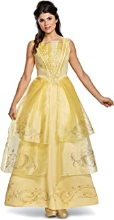 Disney Women's Belle Ball Gown Deluxe Adult Costume