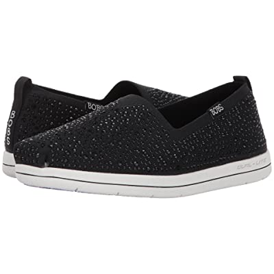 BOBS from SKECHERS Super Plush Space Time (Black) Women