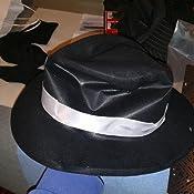 Ghette e mustacch Cravatta SMIFFYS Kit istantaneo da Gangster Cappello con bracciali