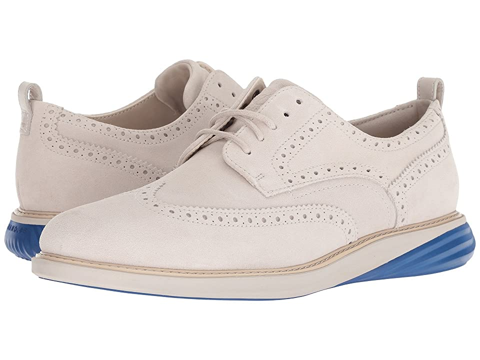 Cole Haan Grand Evolution Shortwing (Pumice Stone Suede/Limoges/Pumice) Men