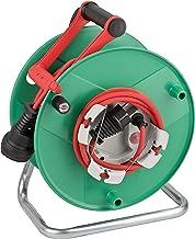 Brennenstuhl Garant G Bretec IP44 Tuinkabelhaspel (kabelhaspel voor grasmaaiers met 38 + 2 m kabel in rood, speciale kunst...