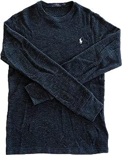 Polo Ralph Lauren Mens T-Shirt Waffle Knit Long Sleeve Tee