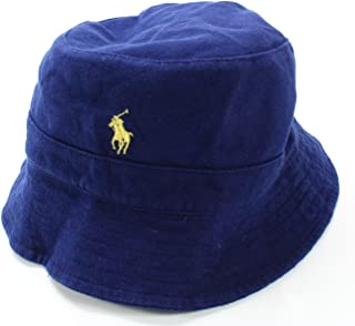d687a094 Polo Ralph Lauren Men's Cotton Mesh Bucket Hat (Large/X-Large)